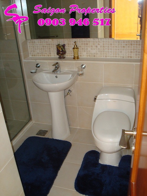 The Manor apartments for rent and sale in hcmc - master bathroom