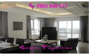 Dining room with big balcony