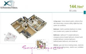 Plan - xi apartment for rent in hcmc
