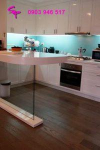 small kitchen but modern