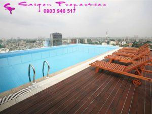 swimming pool on top floor