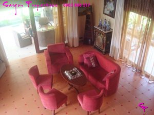 VILLA FOR RENT IN SAIGON - GREEN SPACE FOR peaceful life - Living room