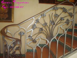 VILLA FOR RENT IN SAIGON - GREEN SPACE FOR peaceful life - stair way