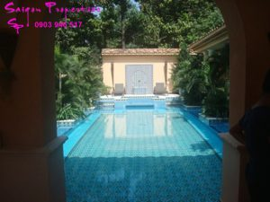 VILLA FOR RENT IN SAIGON - GREEN SPACE FOR peaceful life - swimmin pool