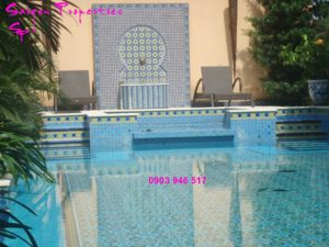 VILLA FOR RENT IN SAIGON - GREEN SPACE FOR peaceful life - swimming pool chair